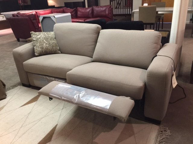 Merveilleux Double Reclining Sofa By Italsofa