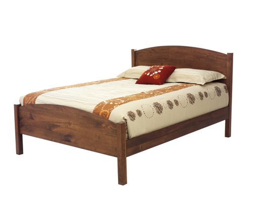 Amish Eclipse Solid Wood Platform Bed