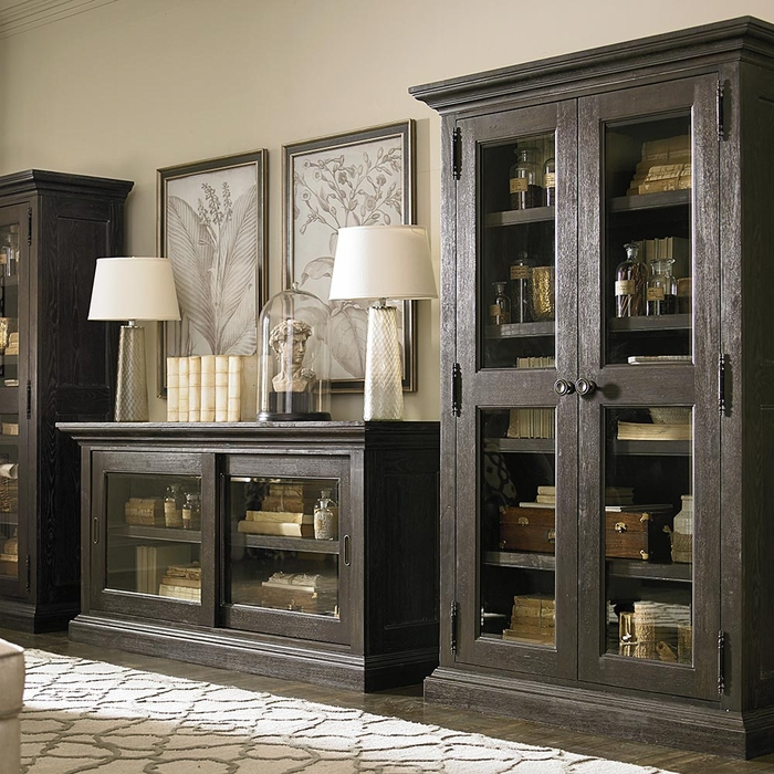 Emporium display cabinet by bassett furniture storage for Furniture emporium