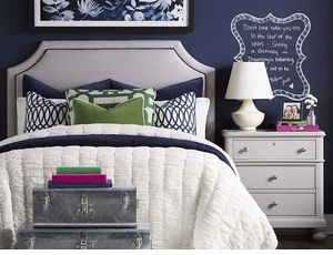 Florence Fabric Headboard by Bassett Furniture
