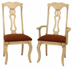 Amish French Country Dining Chairs