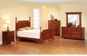 Fur Elise Amish Bedroom Set
