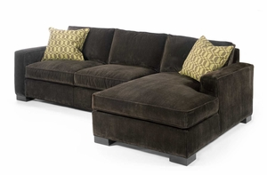 grace modern down sectional