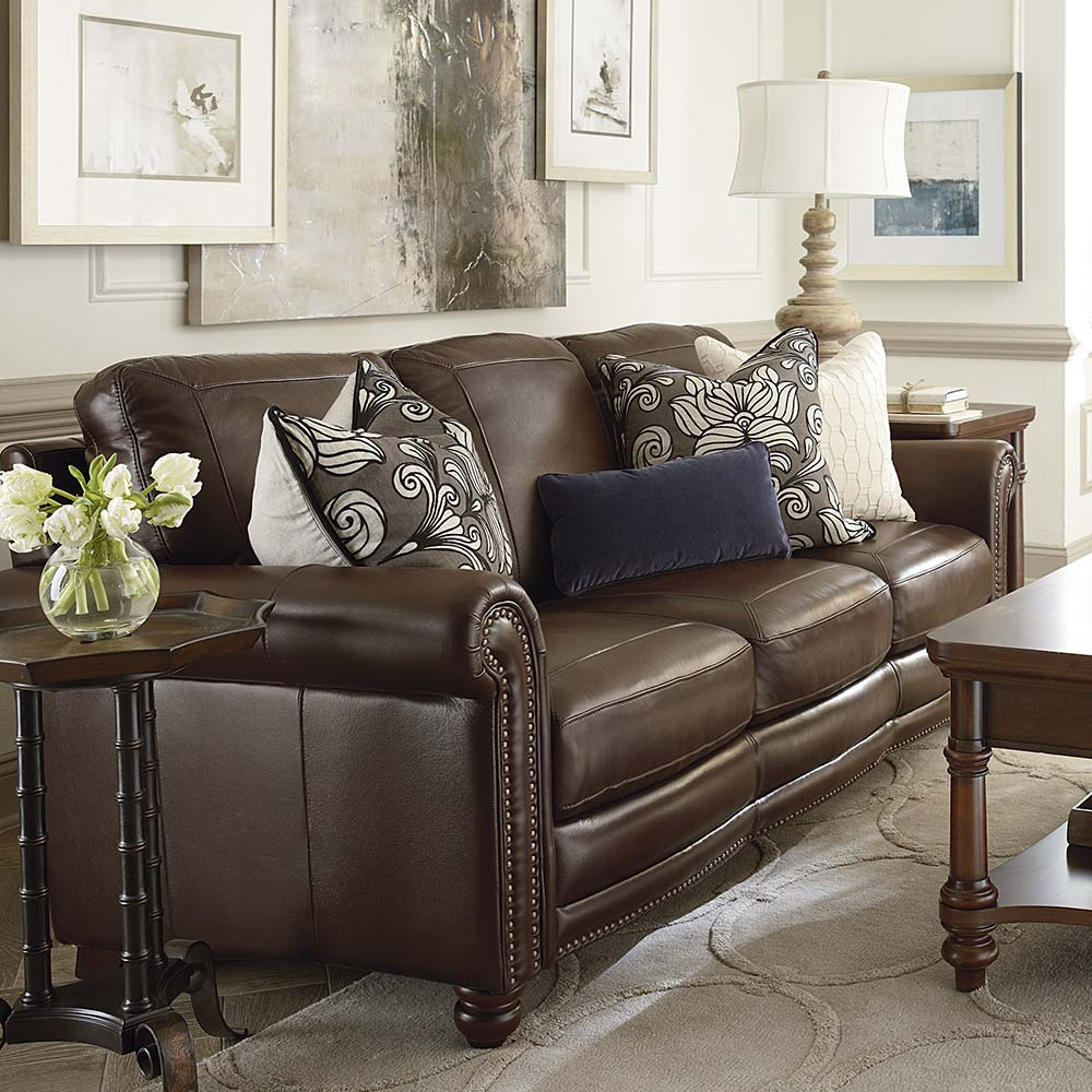 Hamilton Leather Sofa By Bett Furniture
