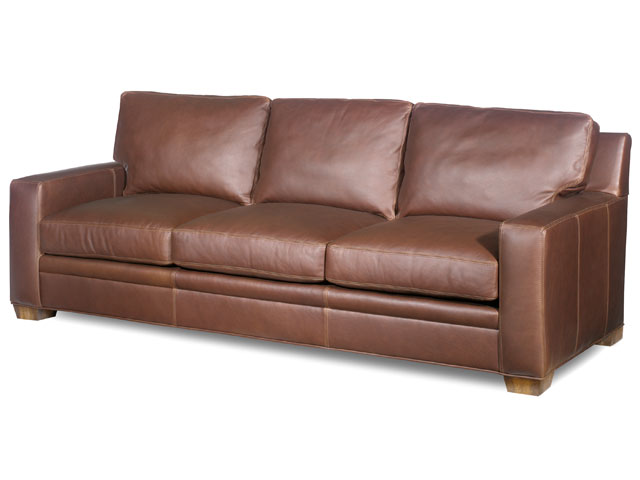 Hanley Leather Sofa by Bradington-Young