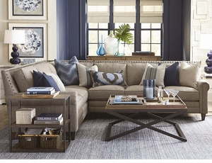 Harlan Sectional Sofa by Bassett