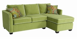 Heather Loveseat and Chaise by Norwalk