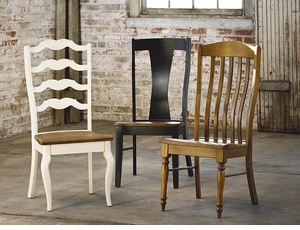 Henry Benchmade Dining Chair by Bassett