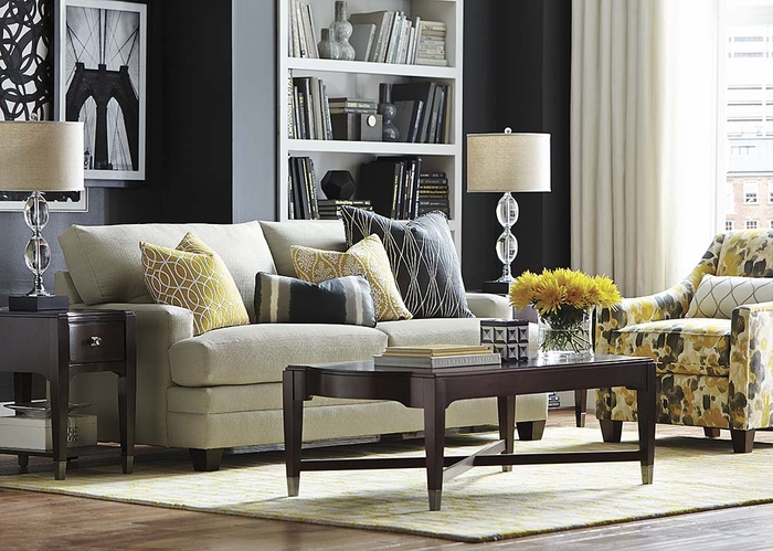hgtv custom sofa by bassett furniture