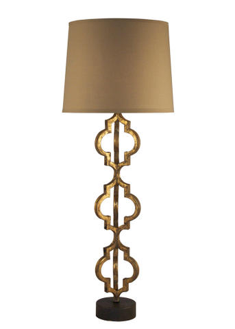 iron mosaic pattern lamp