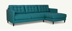 James Modern Sectional with Chaise Lounge