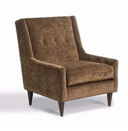 kara tufted back modern chair
