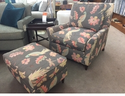 Kent Chair and Ottoman