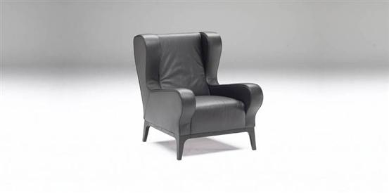Kristal 2424 Chair by Natuzzi Italia