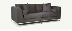 Max Modern Metal Base Sofa by Younger Furniture