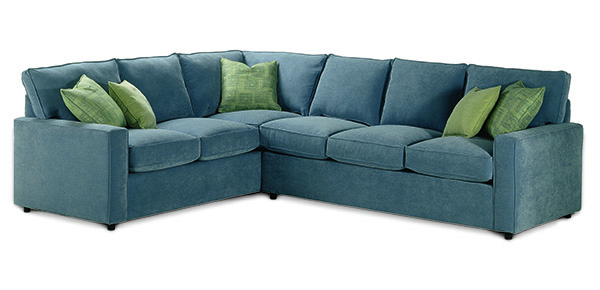 Monaco Sectional Sofa by Rowe