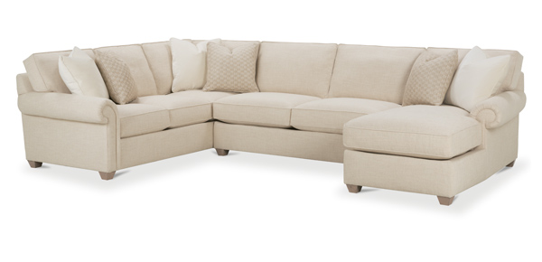 Morgan Sectional Sofa By Rowe Sectional Sofas