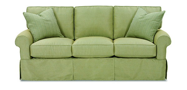 Nantucket Slipcovered 3 Cushion Sofa by Rowe