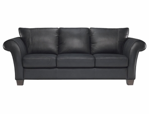 Natuzzi Editions Leather Sofa B682