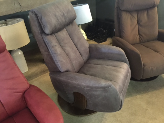 Norwegian Grey Recliner