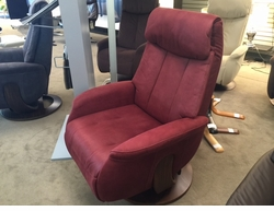 Norwegian Power Swivel Recliner