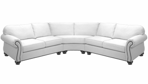 Preston Sectional Sofa by Norwalk Furniture