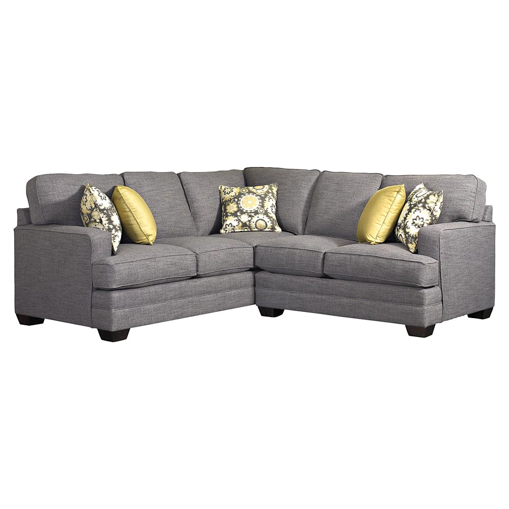 Sectional sofa by bassett furniture bassett sectional sofas for Small sectional sofa bassett