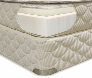 skye firm latex mattress by natura