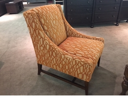 Slope Arm Chair by Norwalk Furniture