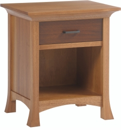 Solid Wood Amish Made Nightstand