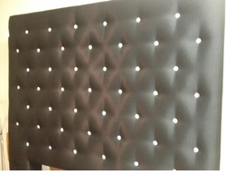 Swarovski Crystal Headboard Floor Model