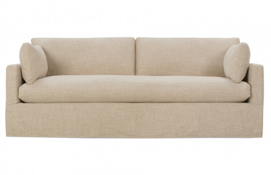 Sylvie Bench Seat Slipcover Sofa by Robin Bruce