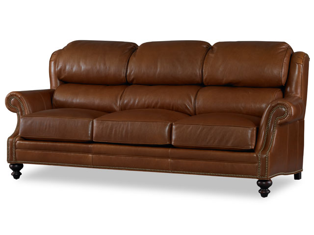 Tabor Leather Sofa by Bradington-Young