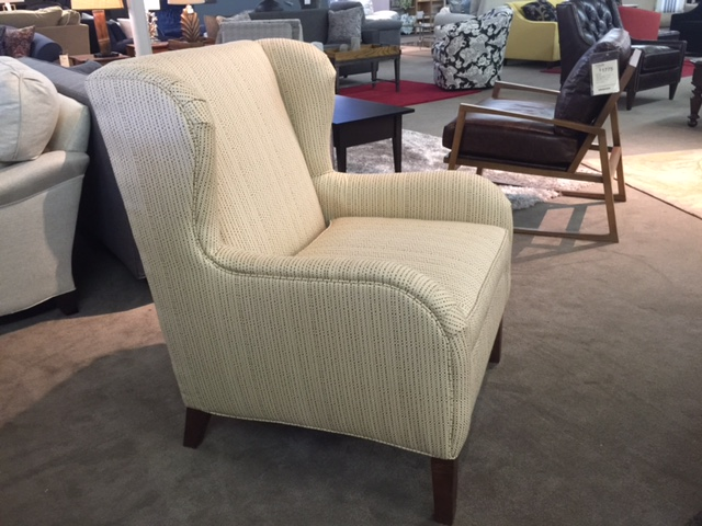 Taylor Chair By Norwalk Furniture In Sunbrella Fabric Mega Clearance Sale