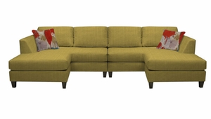 Tribeca Sectional Sofa by Norwalk Furniture
