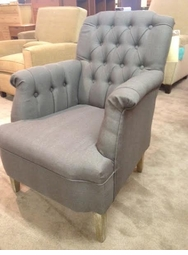 Tufted Armchair Floor Model