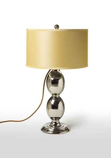 two eggs table lamp