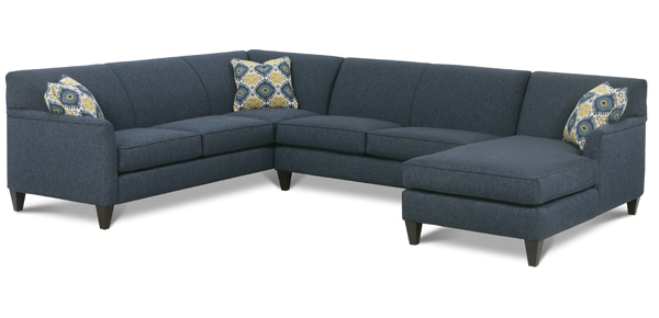 Varick Sectional Sofa by Rowe