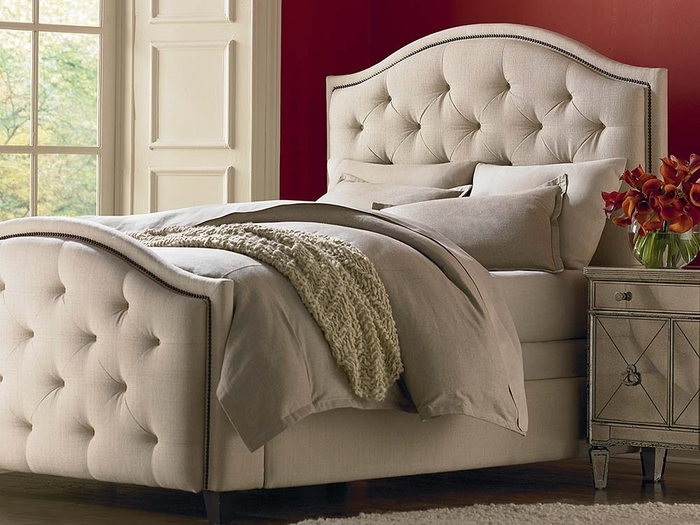Vienna Upholstered Bed by Bassett Furniture - Bassett Bedroom ...