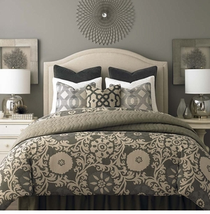 Vienna Upholstered Headboard By Bassett Furniture   Bassett Furniture  Reviews