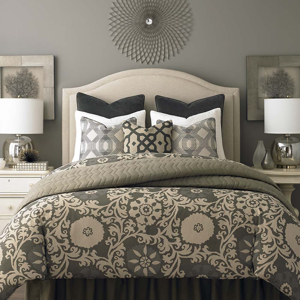 Vienna Upholstered Headboard By Bassett Furniture Beds