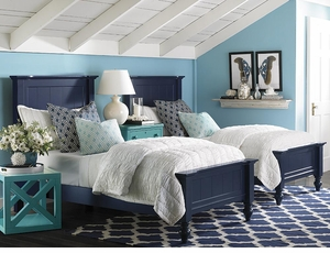 Wakefield Twin Colors Bed by Bassett Furniture