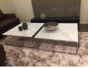 White Marble Cocktail Table