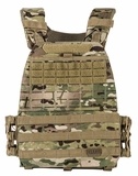 TacTec Plate Carrier Multicam
