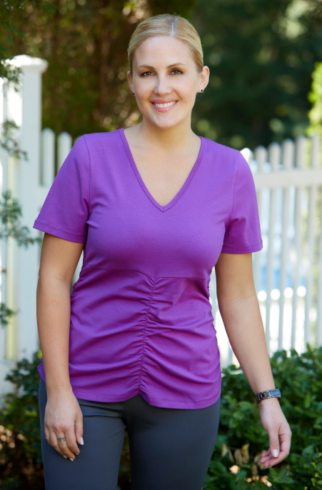 Women 39 S Plus Size Activewear Always For Me Active Ruched