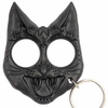 Evil Black Kat Key Chain