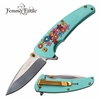 FEMME FATALE FF-A013LB SPRING ASSISTED KNIFE