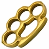 Super Heavy Real Brass Knuckles 12+ Ounces
