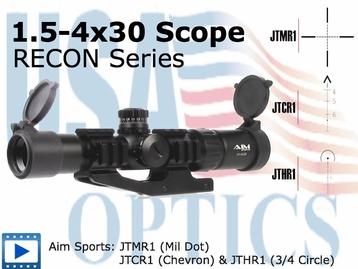 1.5-4X30 TRI ILL, ARROW RETICLE