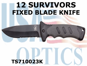 12 Survivors Fixed Blade